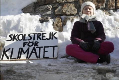 Δεν θα πάει στο σχολείο για ένα χρόνο για να αγωνιστεί για την κλιματική αλλαγή!