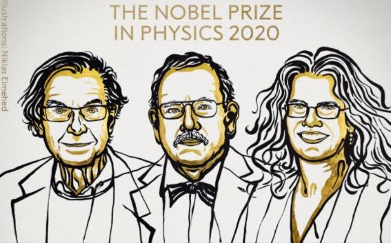 Σε τρεις επιστήμονες το φετινό Νόμπελ Φυσικής για την έρευνά τους για την μαύρη τρύπα